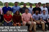 Internship SQ and UX investigation with VR in Toyota: (Deadline 15 August 2021)