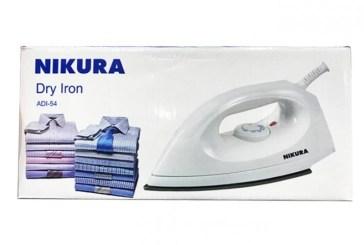 NIKURA ADI54A Dry Iron ,Price 16000 frw, Free delivery.