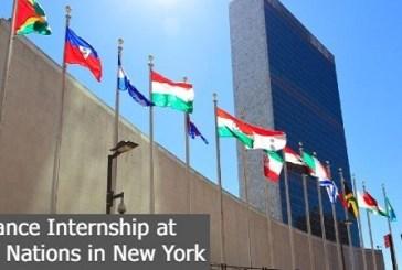 Finance Internship at United Nations in New York: (Deadline 11 August 2022)