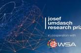 Josef Umdasch Research Prize 2022: (Deadline 7 November 2021)