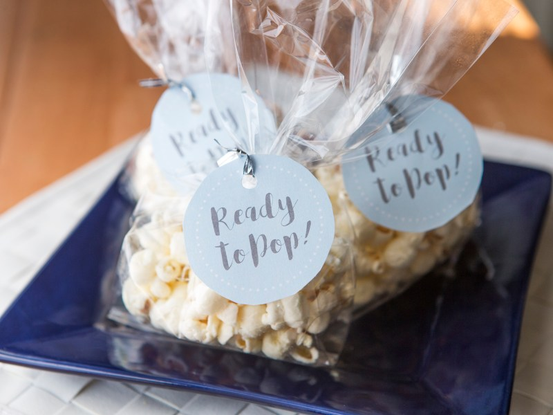 Baby Shower Craft Ready To Pop Favor Mud And Magnolias