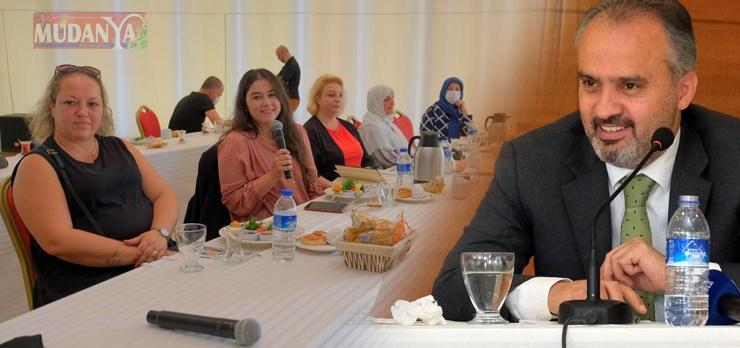 Başkan Aktaş, üreten kadınlarla istişare etti