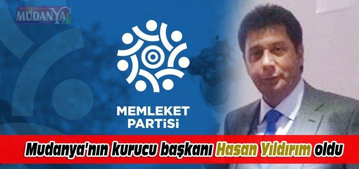 Memleket Partisi'ni Mudanya'da 'Yıldırım' kuracak
