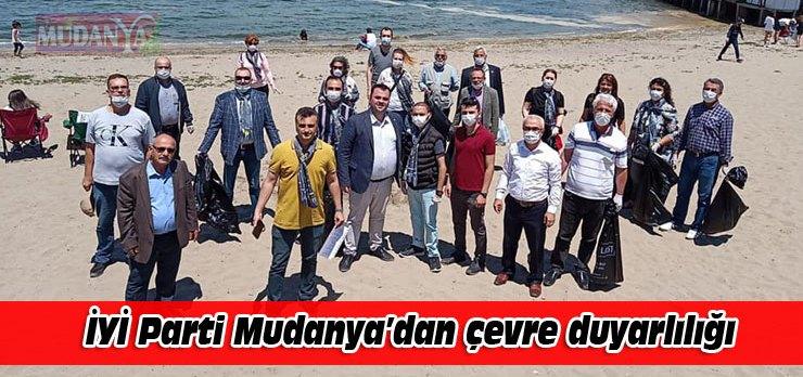 İYİ Parti Mudanya'dan çevre duyarlılığı