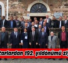 Bursa'da Mudanyalı muhtarlar özel günlerini kutladı