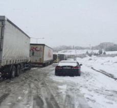 Bursa-İzmir Otoyolu trafiğe kapandı (ÖZEL HABER)