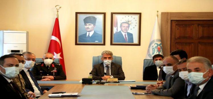 Erzincan'da Pandemi Kurulu toplandı