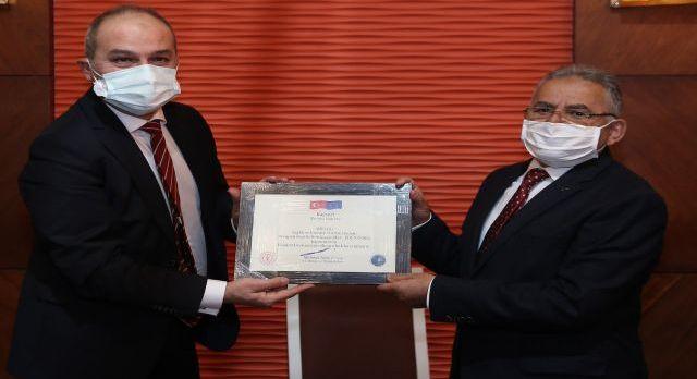 Avrupa Komisyonu Kayseri Erciyes'i ödüllendirdi