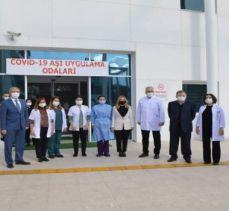 Muğla'da 10 bin sağlık çalışanı aşılandı