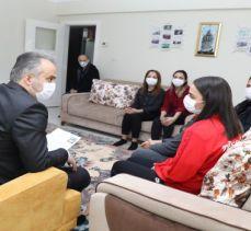Bursa'da Başkan Aktaş'tan milli sporculara moral ziyareti
