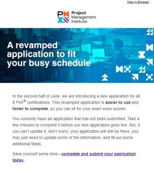 PMI Application 2020