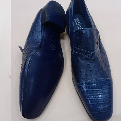 MS Classic Men Shoes - Blue