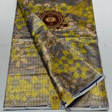 Embellished Holland Gold Wax  6yrds