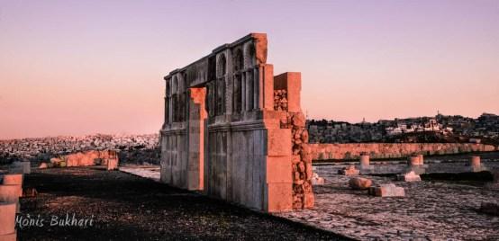 البوابة الأموية، جبل القلعة