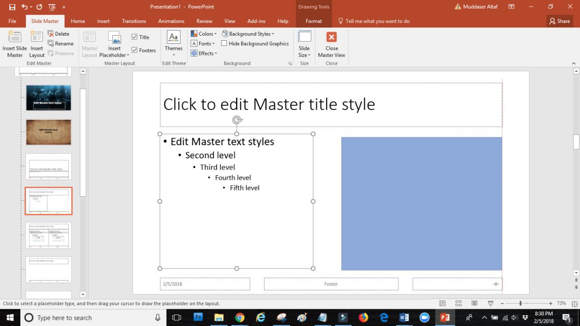 word image 20 - SLIDE MASTER: how touseslide masterin PowerPoint
