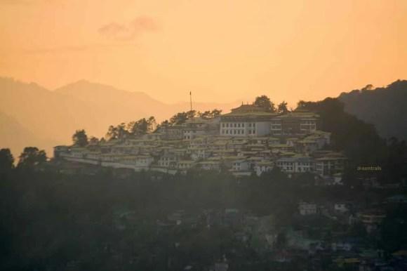 Tawang Monastery as seen from Buddha Park