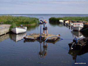 Muddring på Gotland