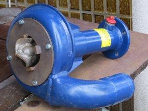 Kort axel för hydrauldrift