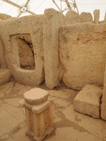 Hagar Qim Muddy Archaeologist Gillian Hovell