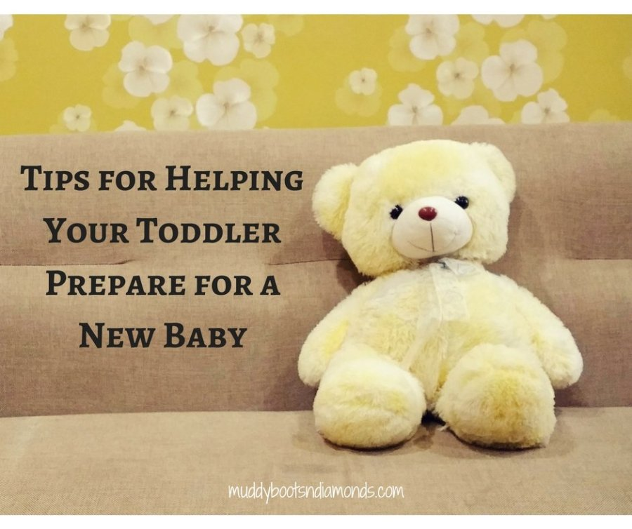 Tips for Helping Your Toddler Prepare for a New Baby via muddybootsanddiamonds.com