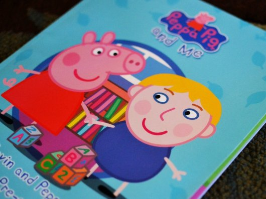 Personalized Peppa Pig Book