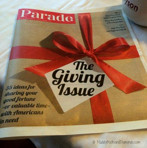 Parade Magazine Charities
