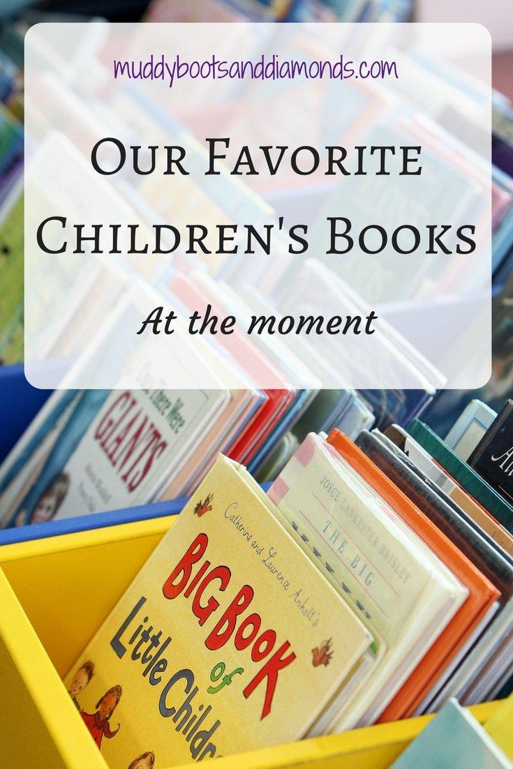 What We're Reading: Children's Books via muddybootsanddiamonds.com