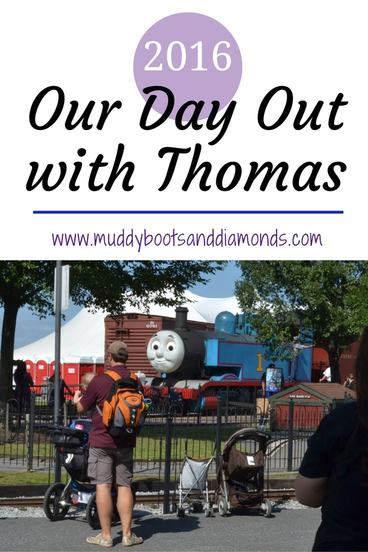 Our trip to Day Out with Thomas 2016 in Strasburg, PA | www.muddybootsanddiamonds.com