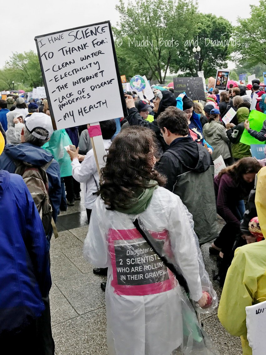 March for Science DC | SIgns for Science via muddybootsanddiamonds.com