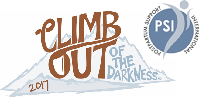 5th Annual Climb Out of the Darkness 2017 benefiting Postpartum Support International via muddybootsanddiamonds.com
