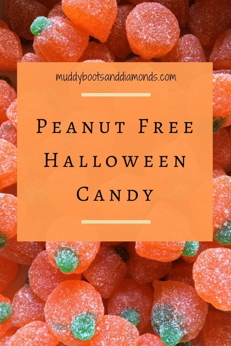 25 Peanut Free Halloween Candy Ideas via muddybootsanddiamonds.com