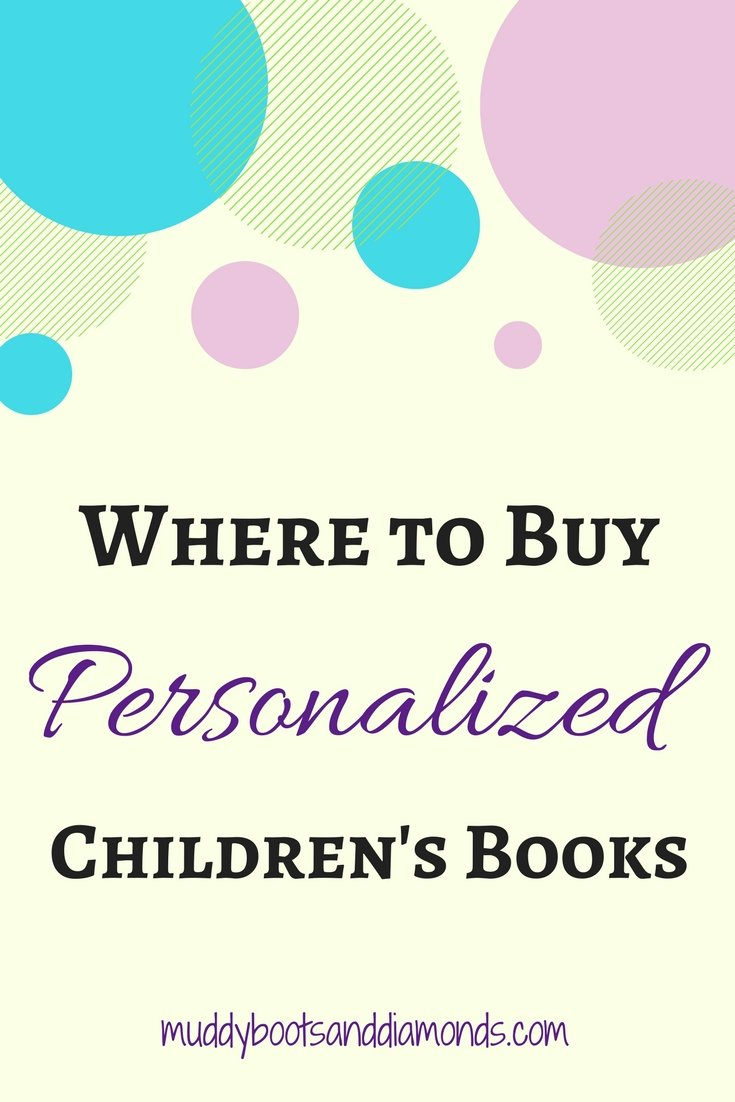 Looking for a unique gift for a birthday, baby shower, or holiday? Consider a personalized children's book! | Where to Buy Personalized Children's Books via muddybootsanddiamonds.com