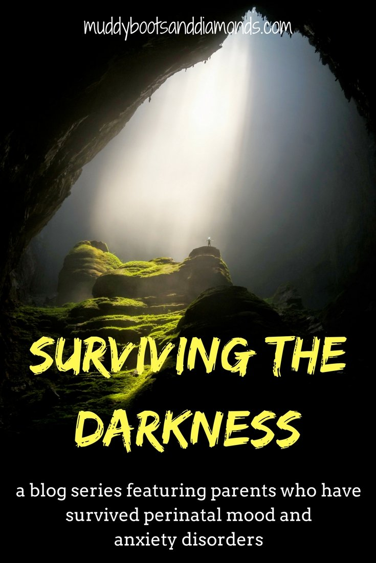 Surviving the Darkness: a blog series featuring parents who have survived perinatal mood and anxiety disorders #PMAD #postpartum #pregnancy
