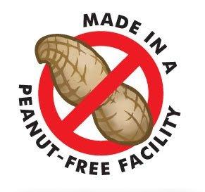 peanut free facility logo