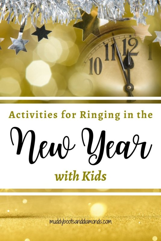 Activities to Ring in the New Year with Your Kids via muddybootsanddiamonds.com