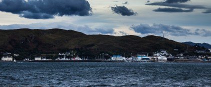Leaving Mallaig and crossing the Sound of Sleat