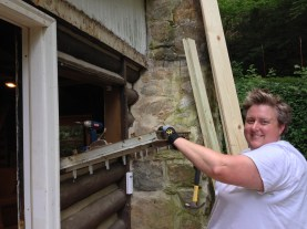 Taking out the old window
