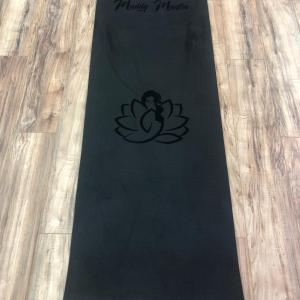 Plankalot TPE Mat Black Cotton Poly All Natural lightweight