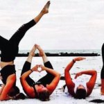 Summer Solstice Beach Yoga