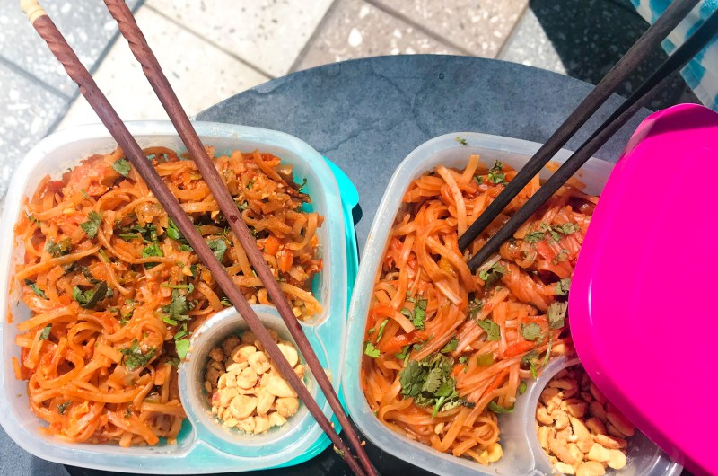 Veggie Pad Thai: Tasty take out made at home