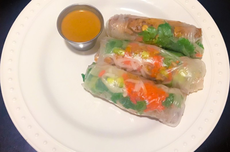 Perfect Summer Spring Rolls