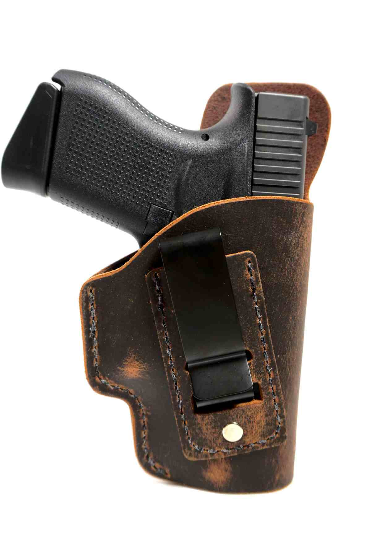 Soft IWB Leather Holsters