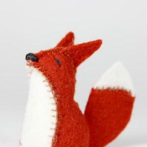 Redd the Little Felt Fox | MudHollow.com