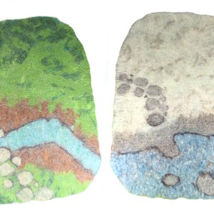 My Little Felt World - Play Mat | MudHollow.com