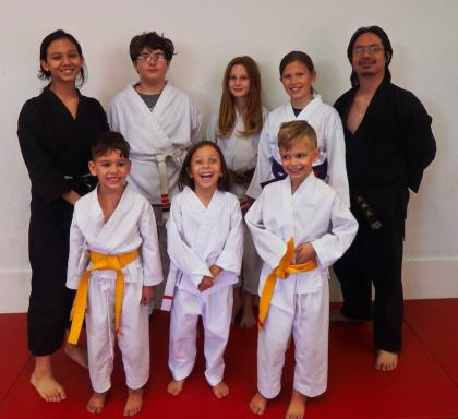 Karate Camp Group - Summer 2018
