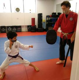 Junior Student Kicking Pad