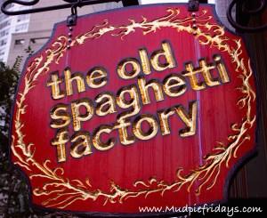 The Old Spaghetti Factory - Toronto