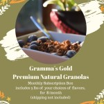 Gramma's GoldPremium Natural Granola (1)