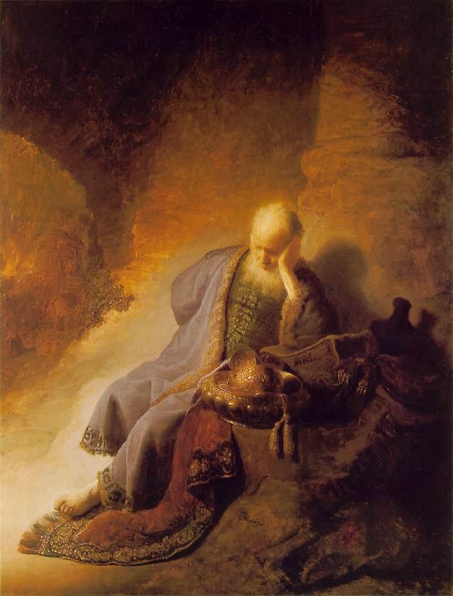 Jeremiah Laments the Destruction