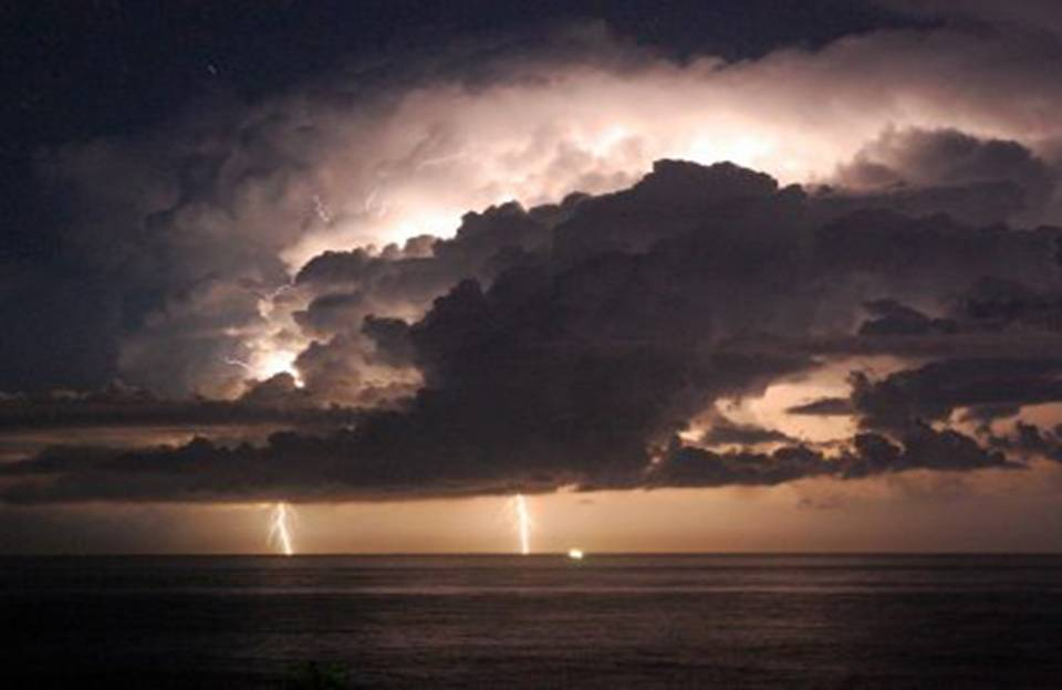 Storm in St Croix